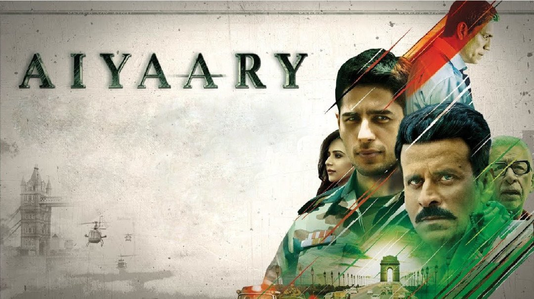 Aiyaary : A lacklusture movie with Manoj Bajpayee carrying the film on his shoulders.