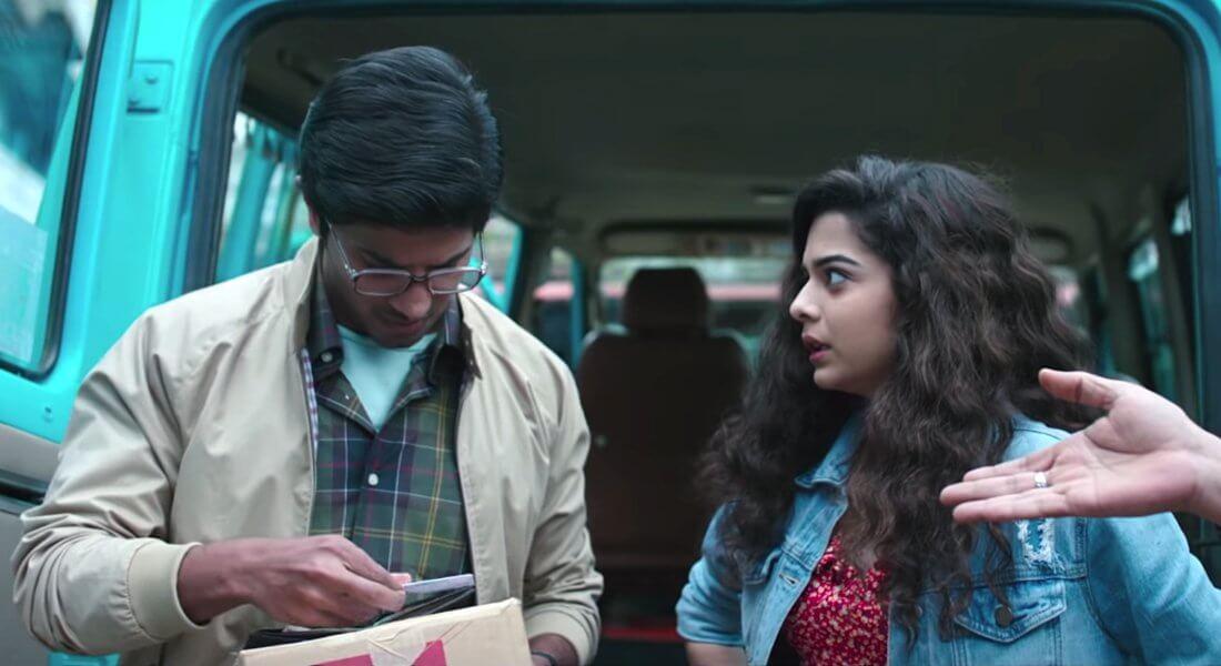 newly released movie Karwaan movie