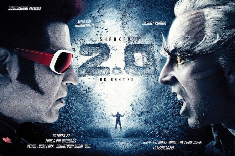 2.0 Movie Review : Over-hyped or Rajini Magic- Shankar Style