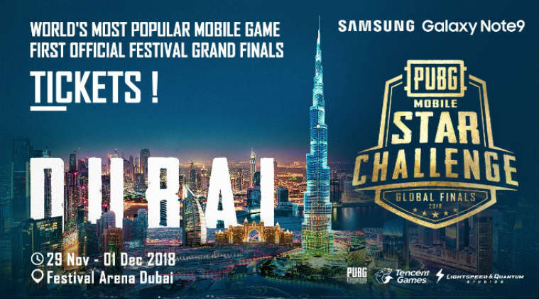 Pubg Mobile Star Challenge Global Finals to begin November 29th : Here's full details!