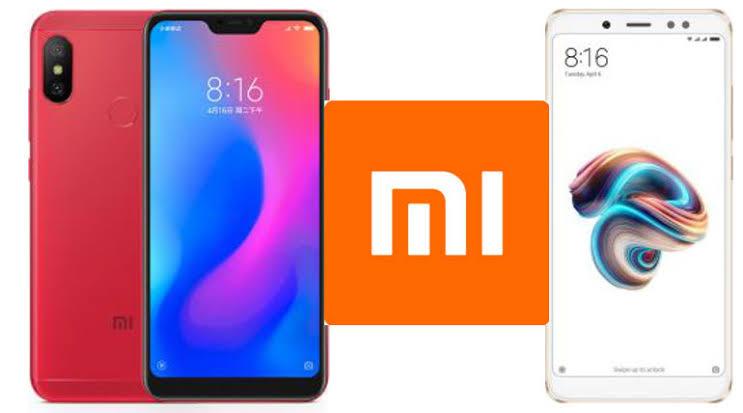Comparing the Redmi Note 5 pro and Redmi Note 6 pro.