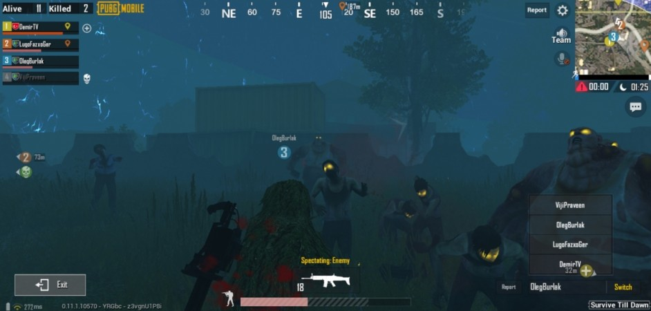 Pubg Mobile Infection Mode - Game and Movie